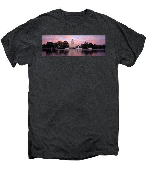 Us Capitol Washington Dc Men's Premium T-Shirt