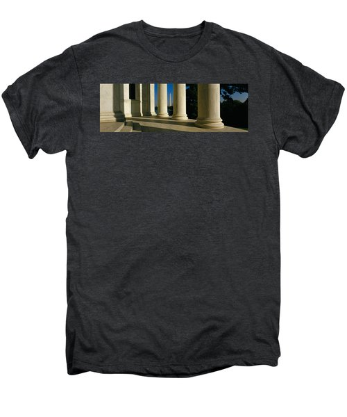 Usa, District Of Columbia, Jefferson Men's Premium T-Shirt by Panoramic Images