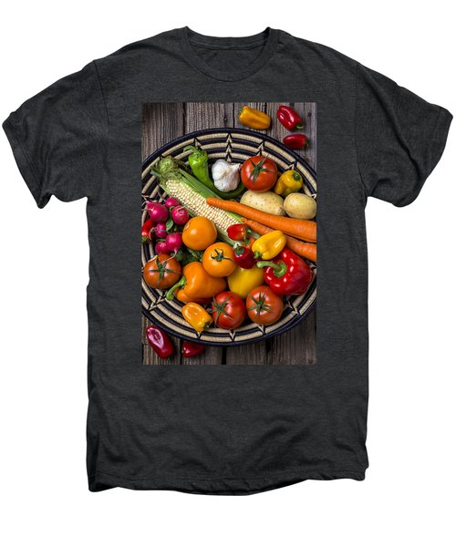 Vegetable Basket    Men's Premium T-Shirt by Garry Gay