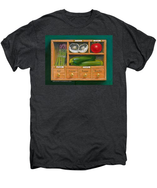 Vegetable Shelf Men's Premium T-Shirt by Brian James