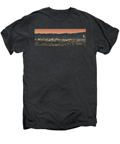 View Of Buildings In City, Beverly Men's Premium T-Shirt by Panoramic Images