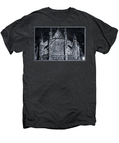 Westminster Abbey North Transept Men's Premium T-Shirt by Joan Carroll