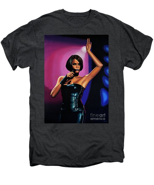 Whitney Houston On Stage Men's Premium T-Shirt
