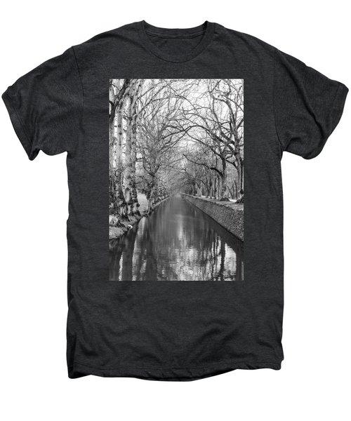Winter Men's Premium T-Shirt by Alex Lapidus