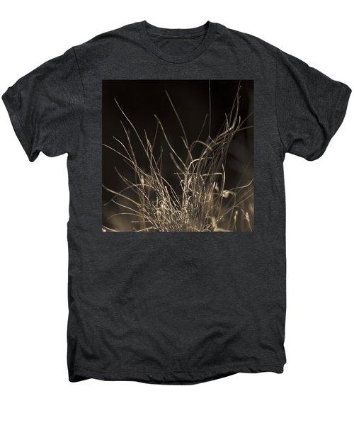 Winter Grass 2 Men's Premium T-Shirt by Yulia Kazansky