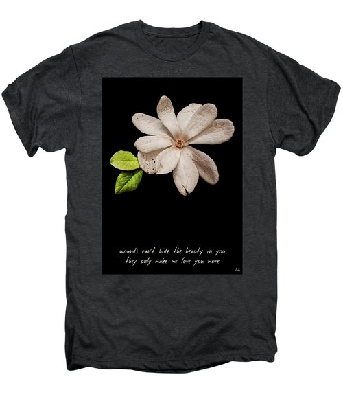 Wounds Cannot Hide The Beauty In You Men's Premium T-Shirt