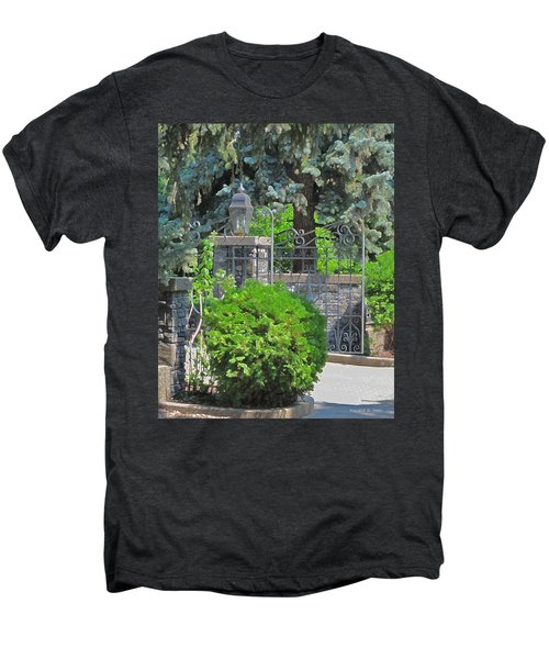 Wrought Iron Gate Men's Premium T-Shirt