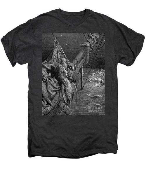 Coleridge: Ancient Mariner Men's Premium T-Shirt