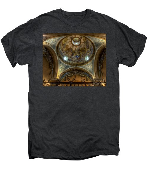 Baroque Church In Savoire France 5 Men's Premium T-Shirt
