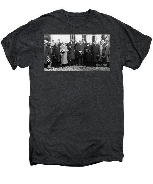Coolidge: Freemasons, 1929 Men's Premium T-Shirt by Granger