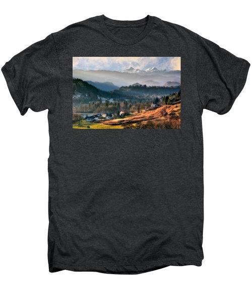 Countryside. Slovenia Men's Premium T-Shirt