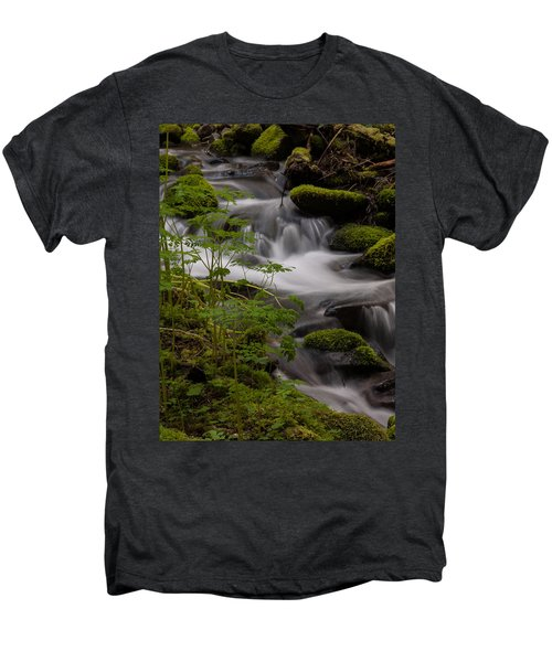 Gently Falling Men's Premium T-Shirt