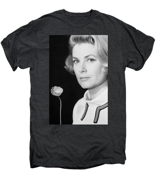Grace Kelly (1928-1982) Men's Premium T-Shirt by Granger