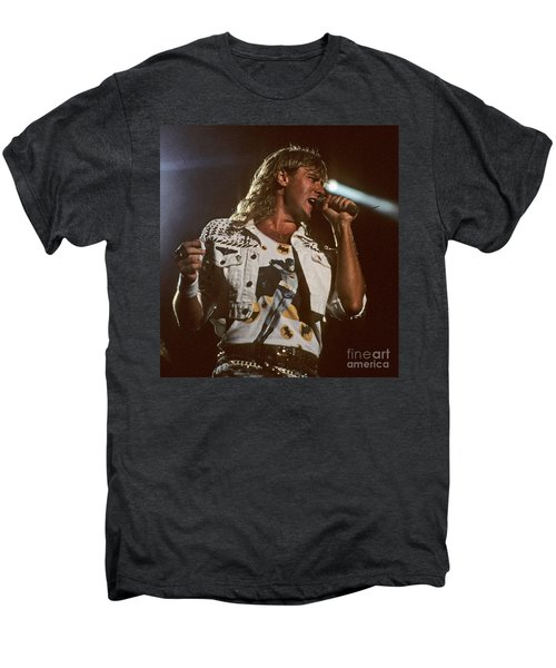 Joe Elliot Men's Premium T-Shirt by David Plastik