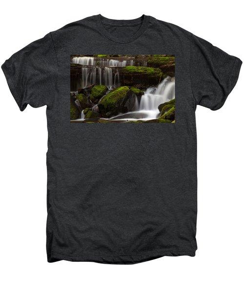 Olympics Gentle Stream Men's Premium T-Shirt by Mike Reid