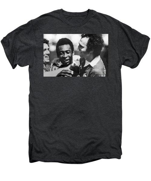 Pele & Beckenbauer, C1977 Men's Premium T-Shirt by Granger