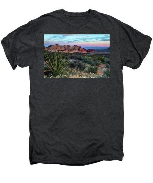 Red Rock Sunset II Men's Premium T-Shirt