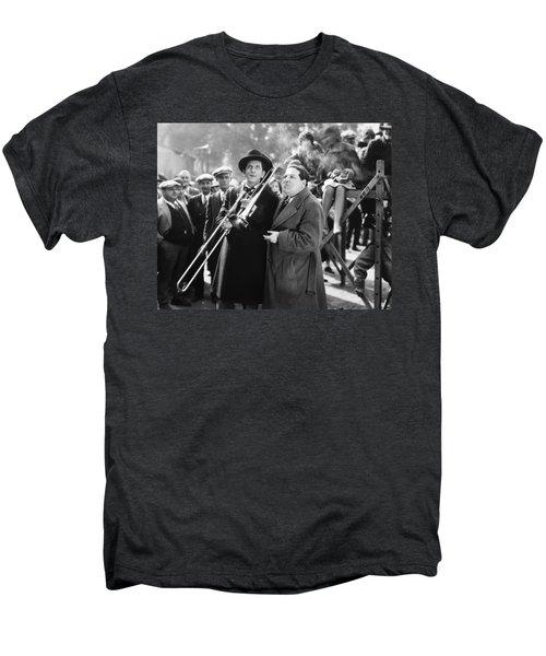 Silent Still: Musicians Men's Premium T-Shirt by Granger