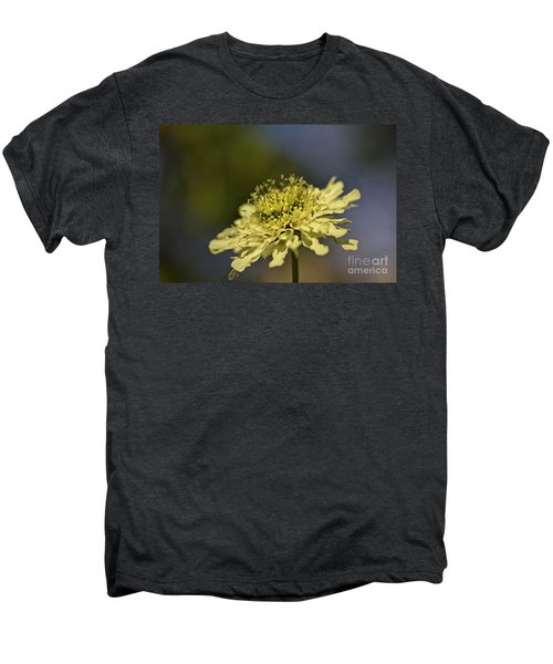 Men's Premium T-Shirt featuring the photograph Soft Yellow. by Clare Bambers