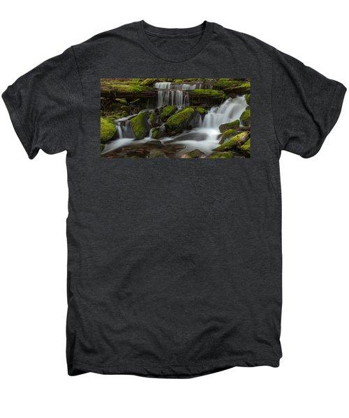 Sol Duc Stream Men's Premium T-Shirt by Mike Reid