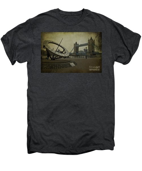 Men's Premium T-Shirt featuring the photograph Timepiece. by Clare Bambers