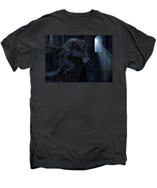 Under The Moonlight Men's Premium T-Shirt