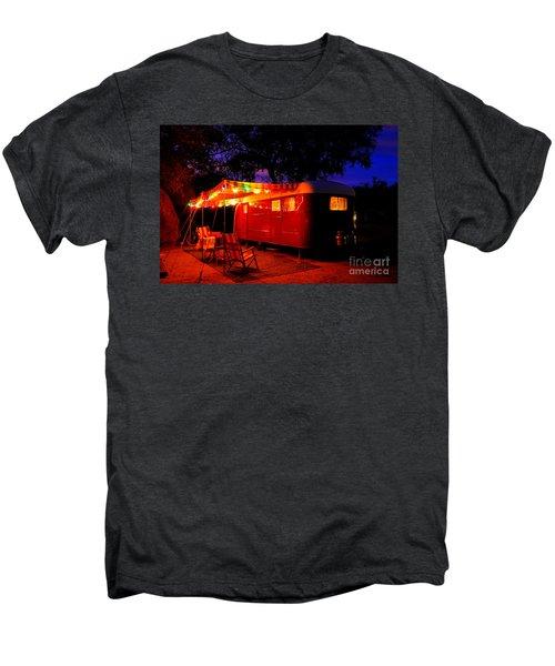 Vintage Vagabond Trailer Men's Premium T-Shirt