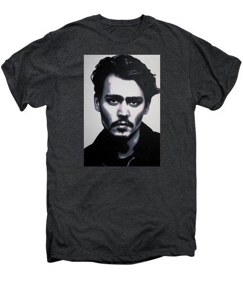 - Johnny - Men's Premium T-Shirt by Luis Ludzska