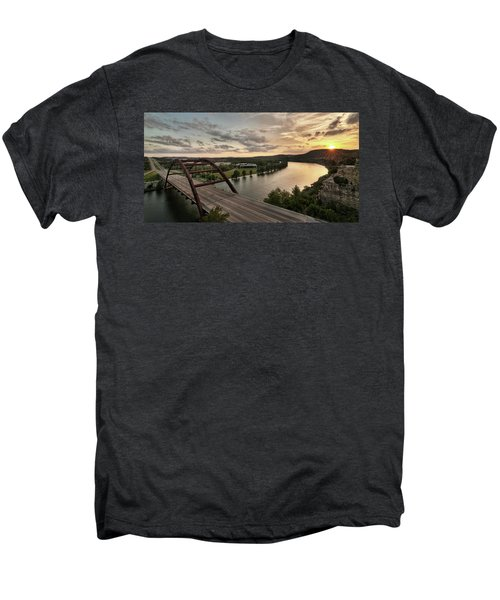360 Bridge Sunset Men's Premium T-Shirt