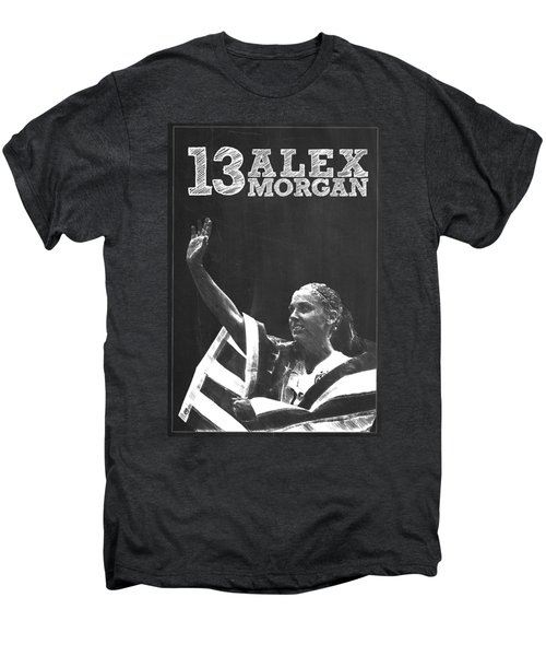 Alex Morgan Men's Premium T-Shirt by Semih Yurdabak