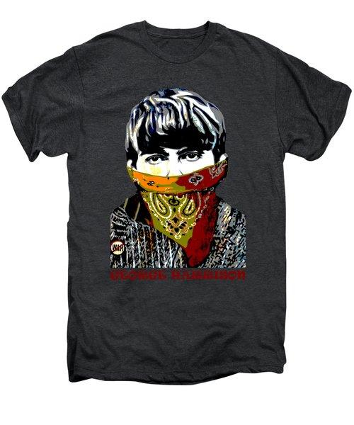 George Harrison Men's Premium T-Shirt by RicardMN Photography