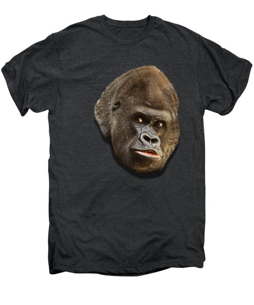 Gorilla Men's Premium T-Shirt by Ericamaxine Price