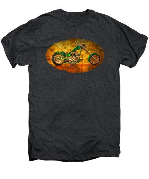 Green Chopper Men's Premium T-Shirt