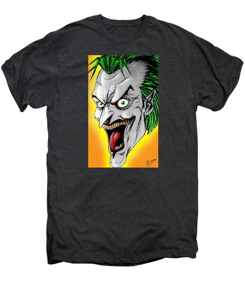 Joker Men's Premium T-Shirt by Salman Ravish
