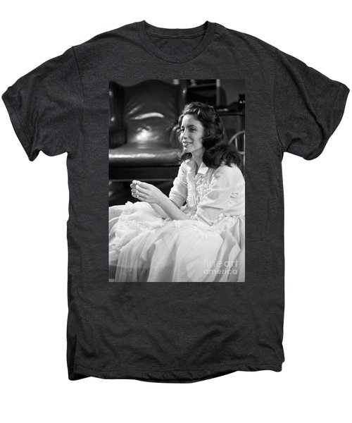 June Carter, 1956 Men's Premium T-Shirt by The Harrington Collection