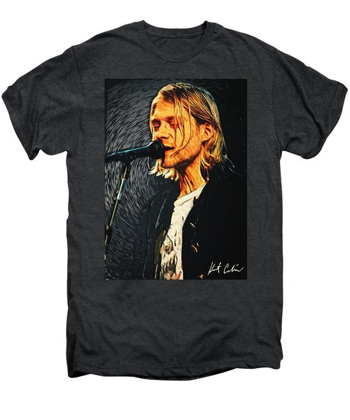 Kurt Cobain Men's Premium T-Shirt