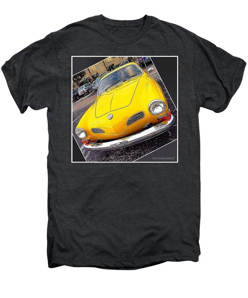 Photoshopping The #yellow #karminnghia Men's Premium T-Shirt