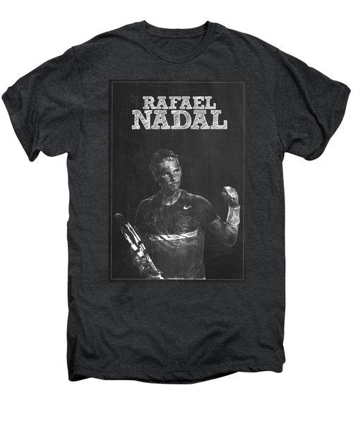 Rafael Nadal Men's Premium T-Shirt by Semih Yurdabak