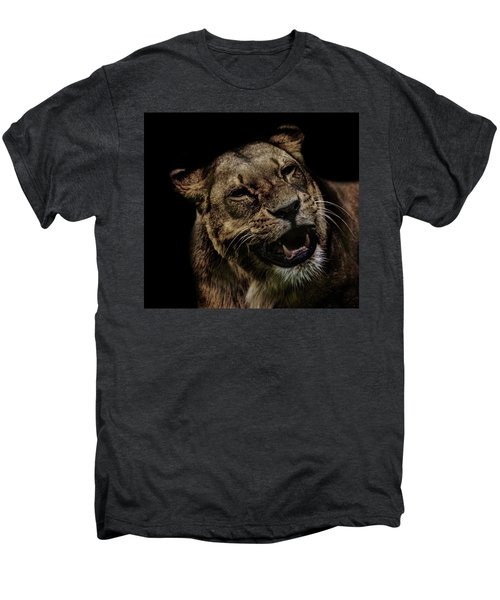 Orangutan Smile Men's Premium T-Shirt by Martin Newman