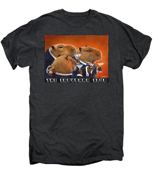 The Capybara Club Men's Premium T-Shirt