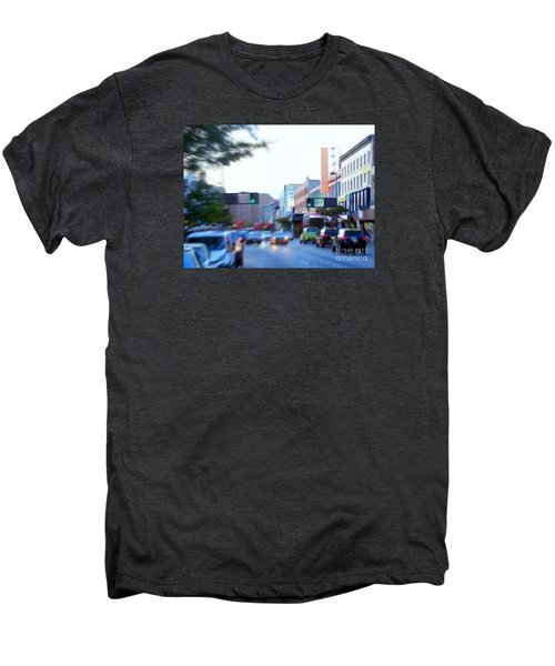 125th Street Harlem Nyc Men's Premium T-Shirt by Ed Weidman