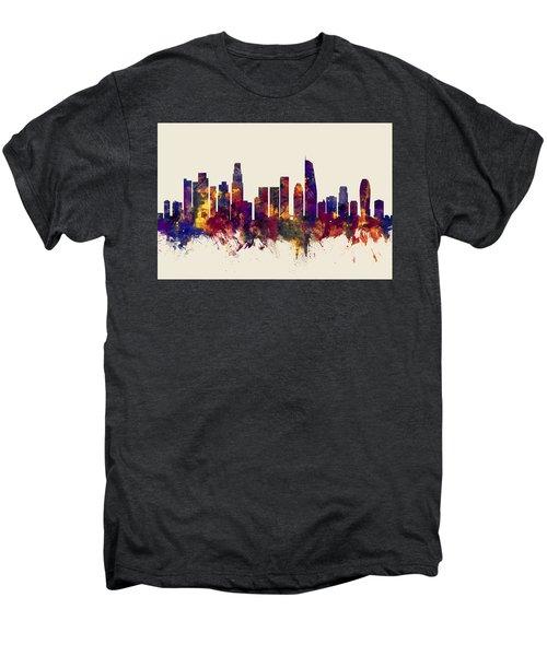 Los Angeles California Skyline Men's Premium T-Shirt