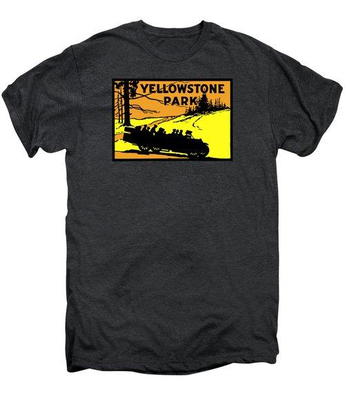 1920 Yellowstone Park Men's Premium T-Shirt