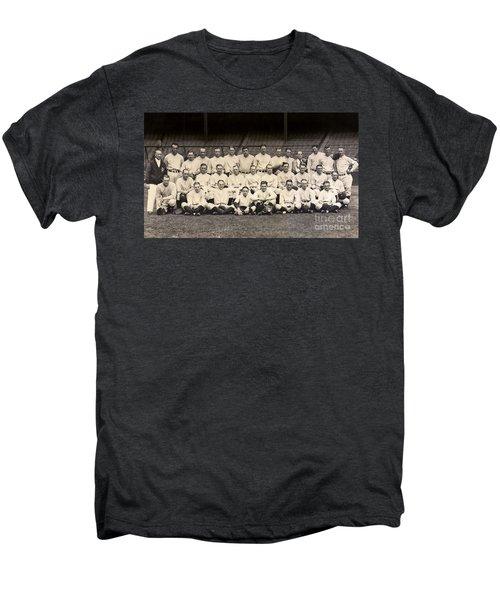 1926 Yankees Team Photo Men's Premium T-Shirt by Jon Neidert