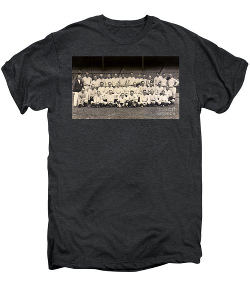 1926 Yankees Team Photo Men's Premium T-Shirt