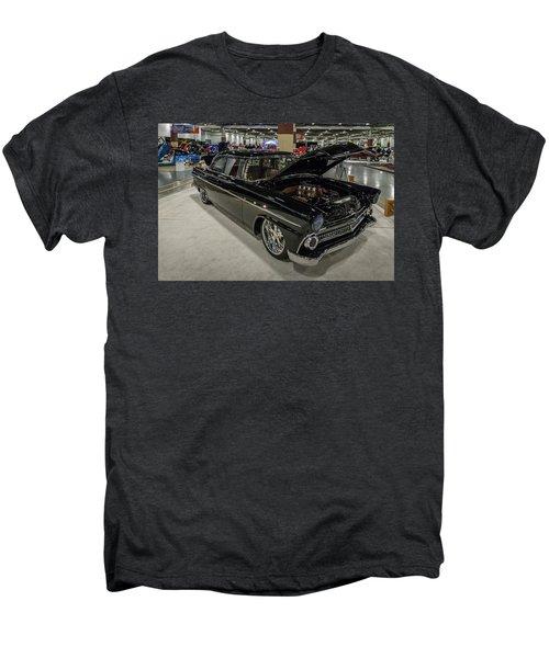 Men's Premium T-Shirt featuring the photograph 1955 Ford Customline by Randy Scherkenbach
