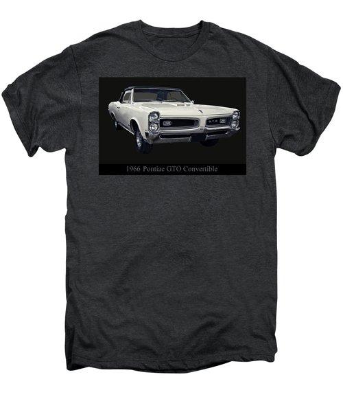 1966 Pontiac Gto Convertible Men's Premium T-Shirt
