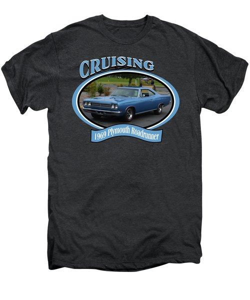1969 Plymouth Roadrunner Green Men's Premium T-Shirt