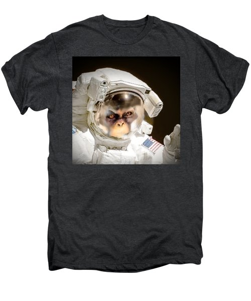 1st Into Space  Men's Premium T-Shirt by Scott French