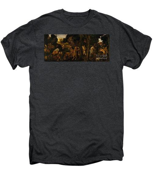 A Hunting Scene Men's Premium T-Shirt